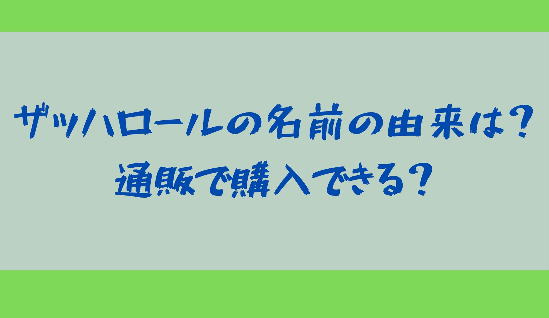 ザッハロール【火曜サプライズ】
